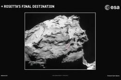 تعیین نقطه نابودی «روزتا» بر روی دنباله دار