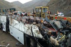 İran'da otobüs kazası: 16 ölü
