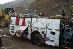 واژگونی اتوبوس در تربت حیدریه یک کشته و ۲۵ زخمی برجای گذاشت