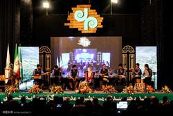 آیین اختتامیه جشنواره موسیقی  لیلم  در ساری