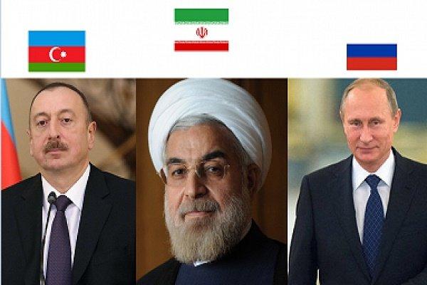 روحاني يشارك في القمة الثلاثية في باكو الشهر الحالي