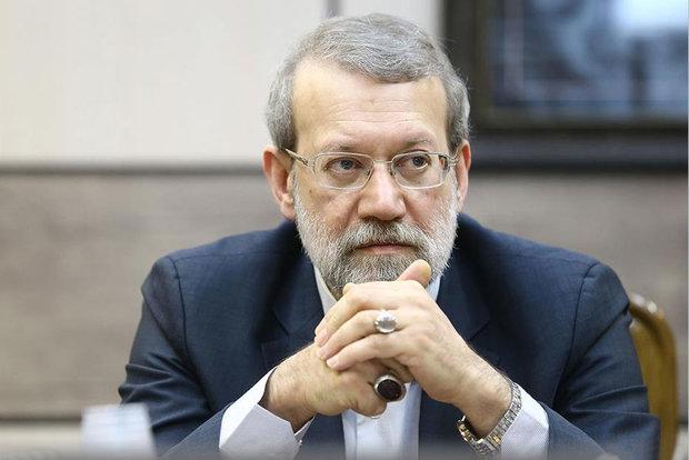 لاريجاني: السعودية تحاول اعاقة الانفتاح الاقتصادي في ايران