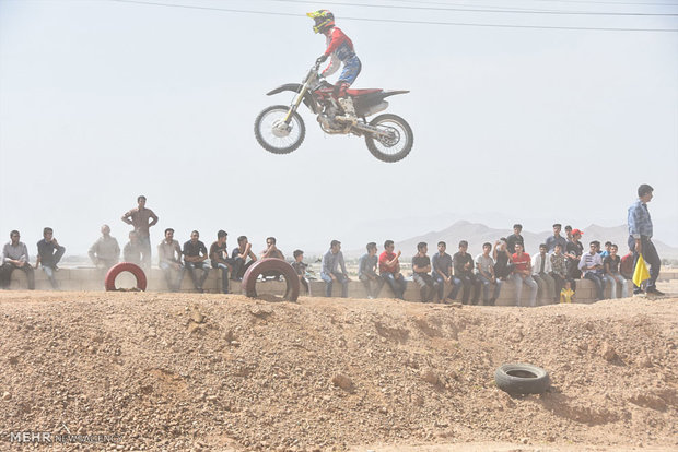 Isfahan motorcross competitions