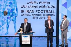 اقامة حفل توزيع الجوائز في الدوري الايراني الممتاز لكرة القدم