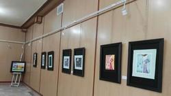 نمایشگاه نقاشی با محوریت فرهنگ کُرد کلهر در سنندج  برپاشد