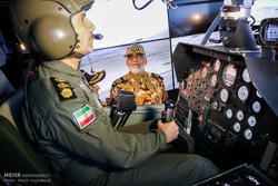 Unveiling ceremony of helicopter simulator