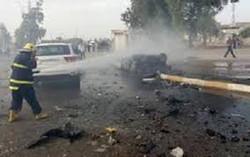 ارتفاع حصيلة التفجير الانتحاري في الكاظمية الى 60 قتيلا وجريحا
