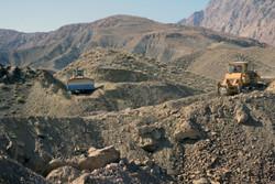 جاده روستایی - جاده سازی - جاده دسترسی تپه شهدای گمنام میامی