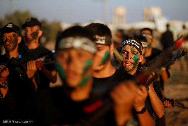 کمپ تابستانی حماس