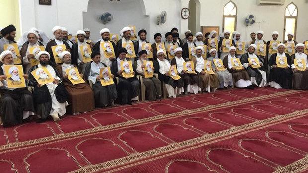 احتجاج في البحرين على سحب الجنسية من الشيخ عيسى قاسم