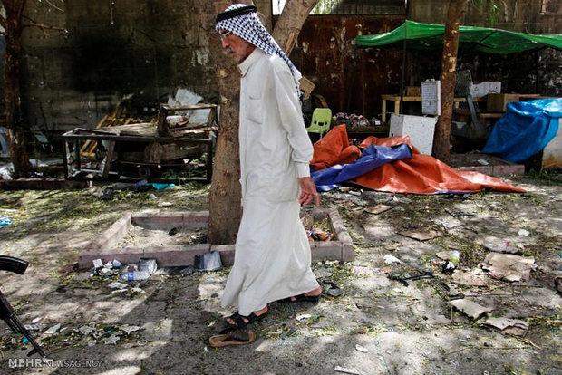 التفجير الارهابي في الكاظمية