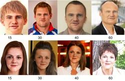 ابداع نرم افزاری برای پیش بینی چهره در آینده