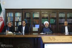 إجتماع أعضاء لجنة مكافحة المخدرات بحضور الرئيس روحاني