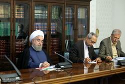 Ruhani, Uyuşturucu ile Mücadele Merkezi toplantısına katıldı