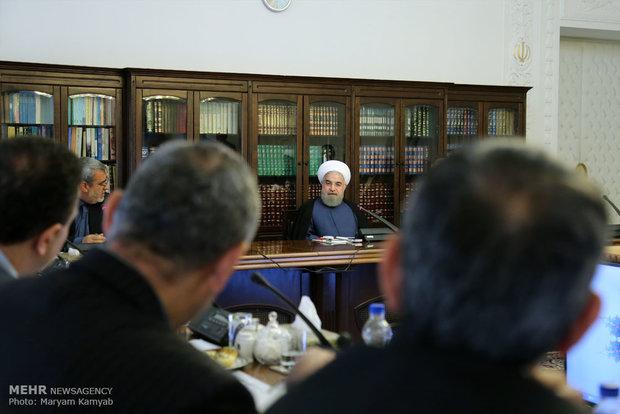 إجتماع لجنة مكافحة المخدرات بحضور الرئيس روحانير
