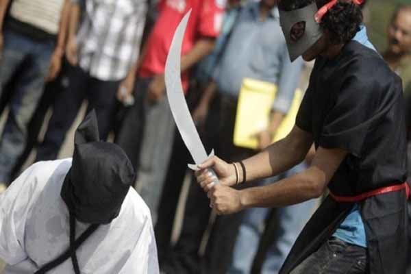 عربستان اعدام