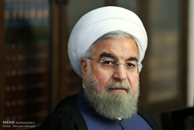 Rouhani hails Turkmen counterpart on re-election