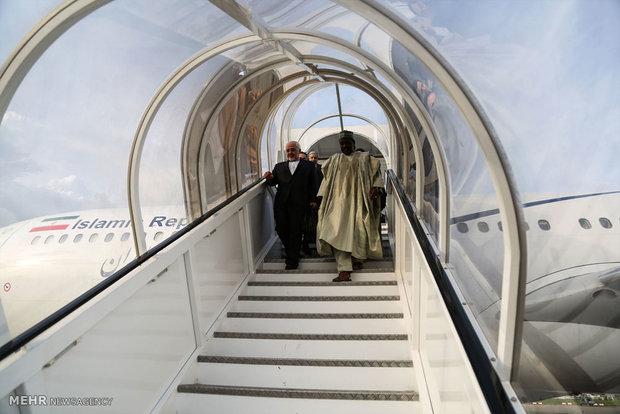 زيارة وزير الخارجية الايراني الى نيجيريا