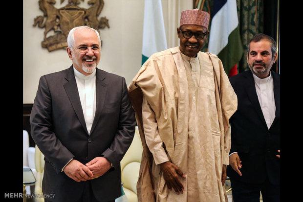 ظريف يؤكد دعم إيران لنيجيريا في محاربة الإرهاب