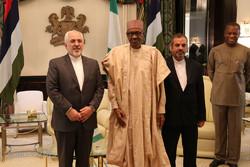 Zarif meets Nigerian counterpart