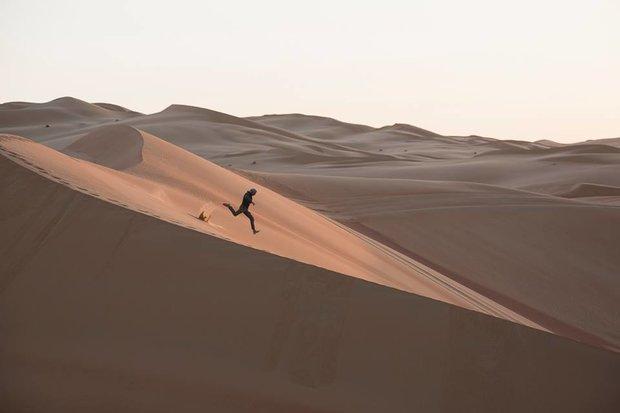 مکس کالدران دونده کویر یوزپلنگ ایرانی