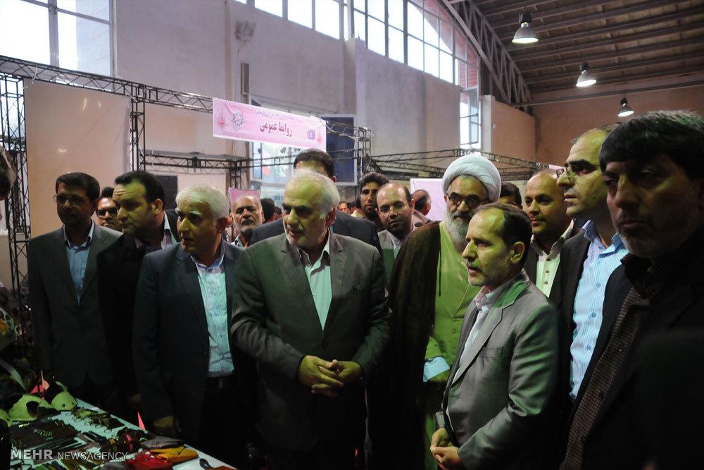 مراسم افتتاح نمایشگاه توانمندیهای بانوان کارآفرین مازندران