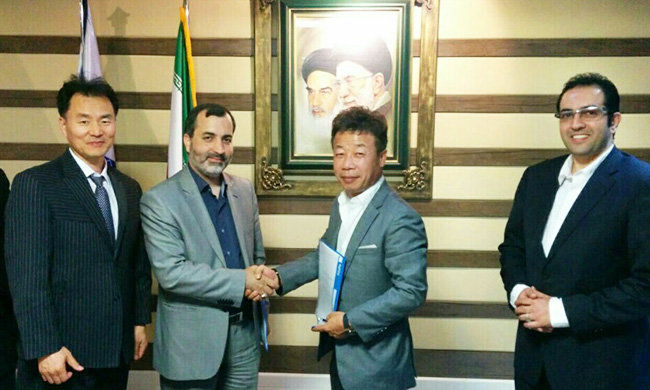 S. Korean company inks €8.6b oil, transport MOAs in Iran