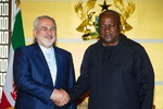 Zarif stresses breaking new grounds in Iran-Ghana ties