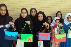 دختران نوجوان به اردوی «دوستی، بازی و خلاقیت» رفتند