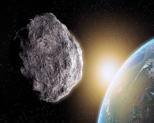 اگر یک شهاب سنگ با زمین برخورد کند! + ویدئو