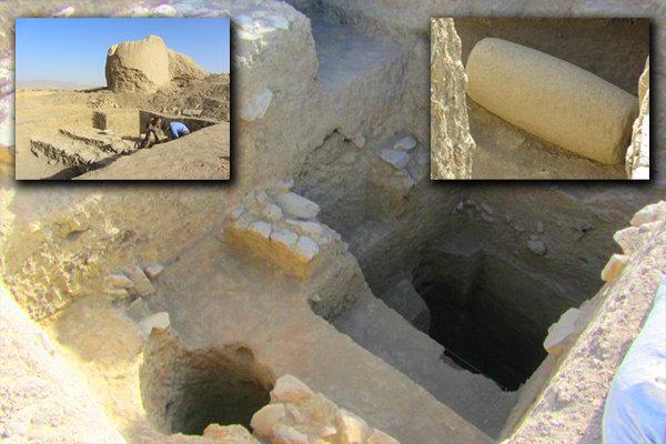 تپه قلندرون شازند ۲۵۰۰ساله شد/کشف آثار مربوط به دوره هخامنشی