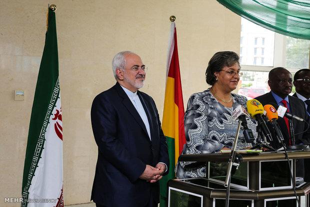 دیدار وزرای خارجه ایران و غنا