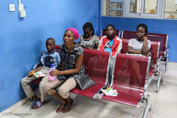 بازدید وزیر امورخارجه از مرکز جمعیت سلامت هلال احمر در غنا