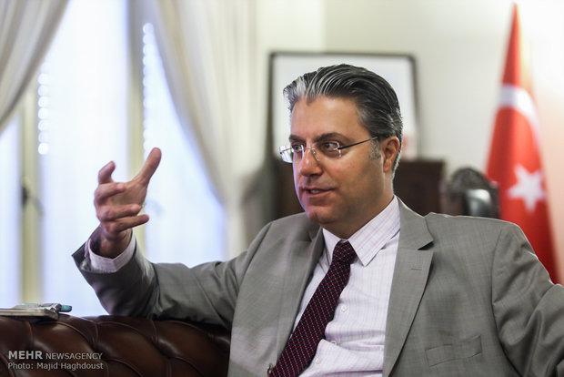 Turkish envoy says unilateral sanctions illegitimate