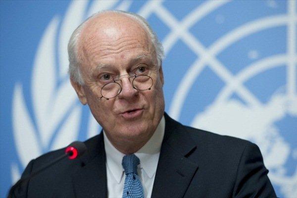 مبعوث الأمم المتحدة إلى سوريا يصل طهران