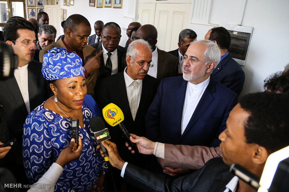 تصاویر: دیدار ظریف با وزیر گینه کوناکری٬ وزیر امور خارجه گینه کوناکری٬ وزیر گینه کوناکری