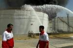 آتش سوزی پتروشیمی بیستون تا پایان امروز مهار نخواهد شد