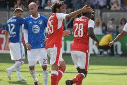 پیروزی آرسنال مقابل ستارگان MLS/ گلزنی دروگبا مقابل توپچیها