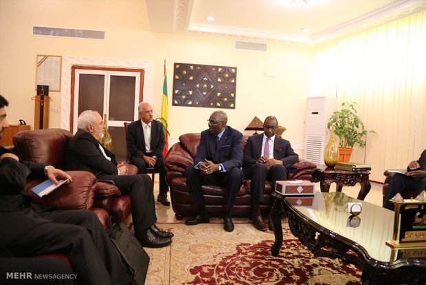 Zarif, Malian PM meet