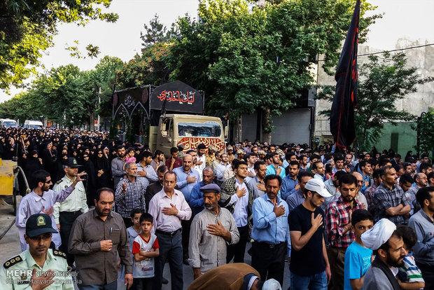 مراسم استقبال از پیکر مطهر 4 شهید گمنام دوران دفاع مقدس در بجنورد