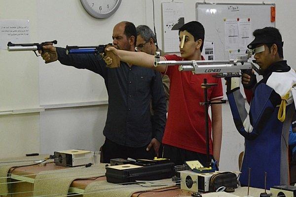 تیراندازی به اهداف ثابت بوشهر