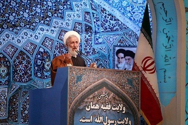 خطيب طهران المؤقت: السعودية واسرائيل قتلة أطفال ووجهان للشيطان الأكبر