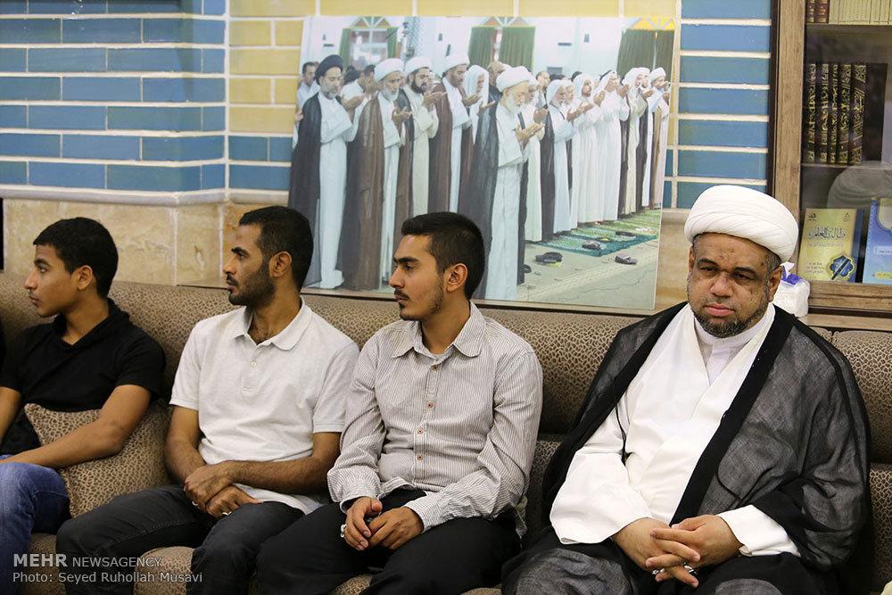 مراسم همبستگی با شیعیان بحرین