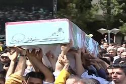 مراسم تشییع شهید گمنام در فدراسیون تکواندو باشکوه برگزار شد