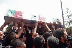 دو شهید گمنام در شهرستان رباط کریم تشییع شدند