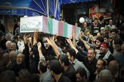 فیلم/ تشییع و خاکسپاری پیکر ۹ شهید دوران دفاع مقدس در گیلان