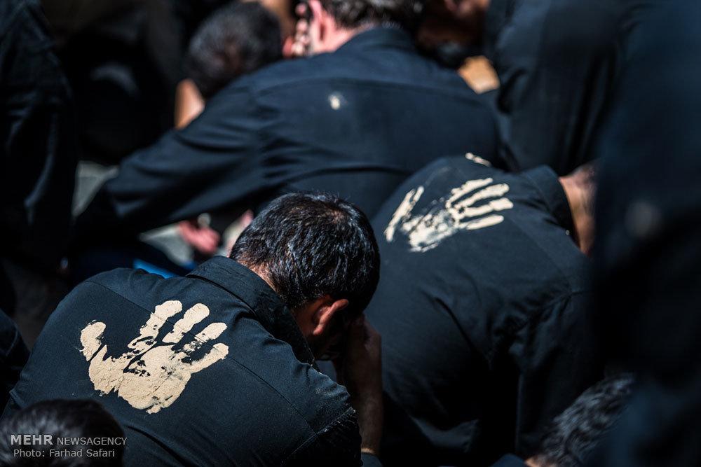 مراسم عزاداری سالروز شهادت امام صادق (ع) در قزوین