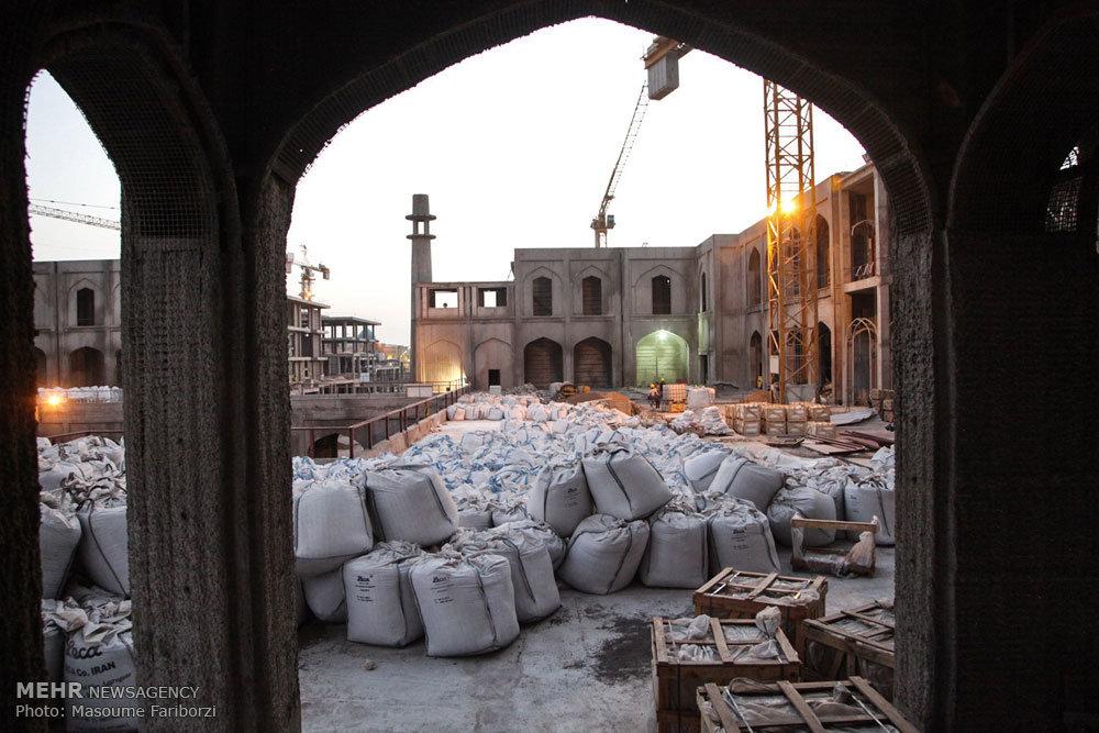 ساخت صحن حضرت زهرا علیهاالسلام و صحن عقیله بنی هاشم
