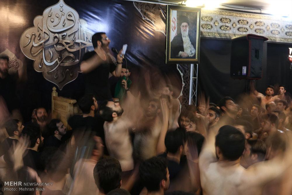 آئین عزاداری شهادت حضرت امام جعفر صادق (ع) در تهران