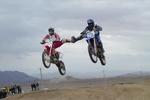 ویراژ کرونا در پیست موتورسواری کرمان